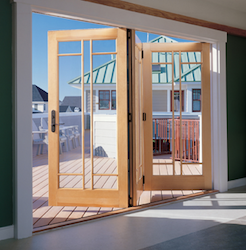 Specialty Doors: Advantages Of The Marvin Bi-Fold Line