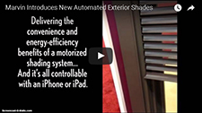 New Automated Exterior Shades