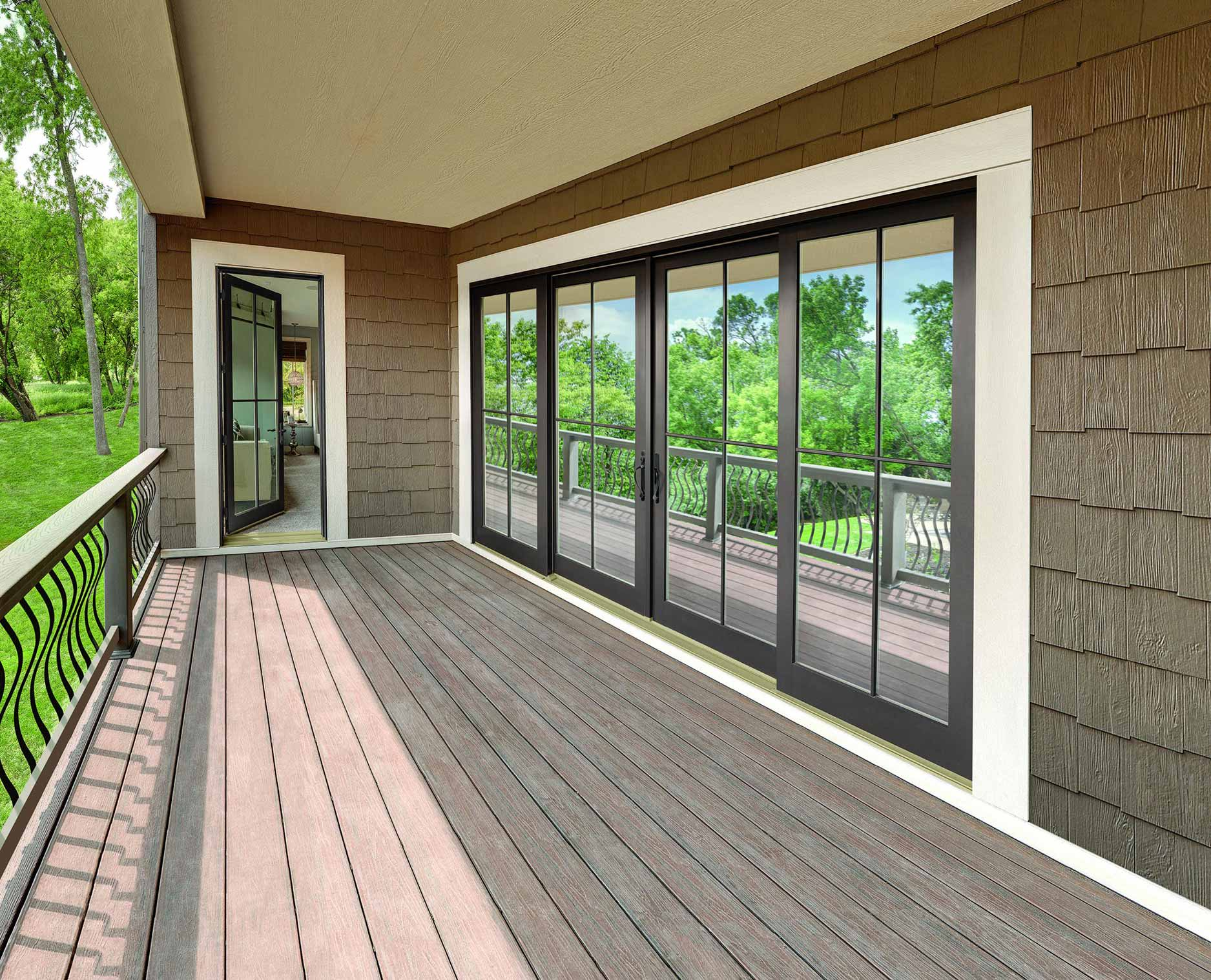 Integrity Wood-Ultrex Sliding French Door