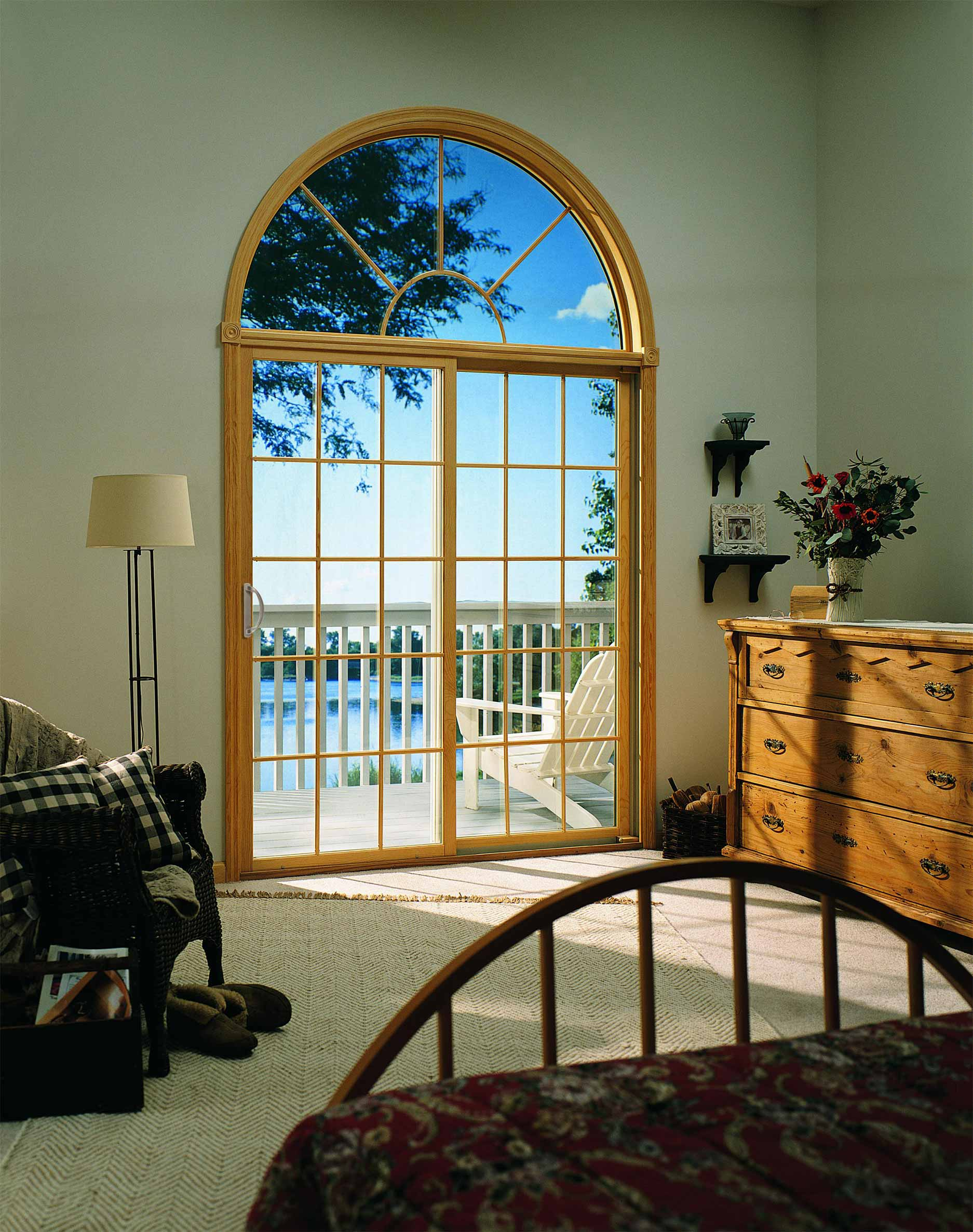 Integrity Wood-Ultrex Sliding Patio Door