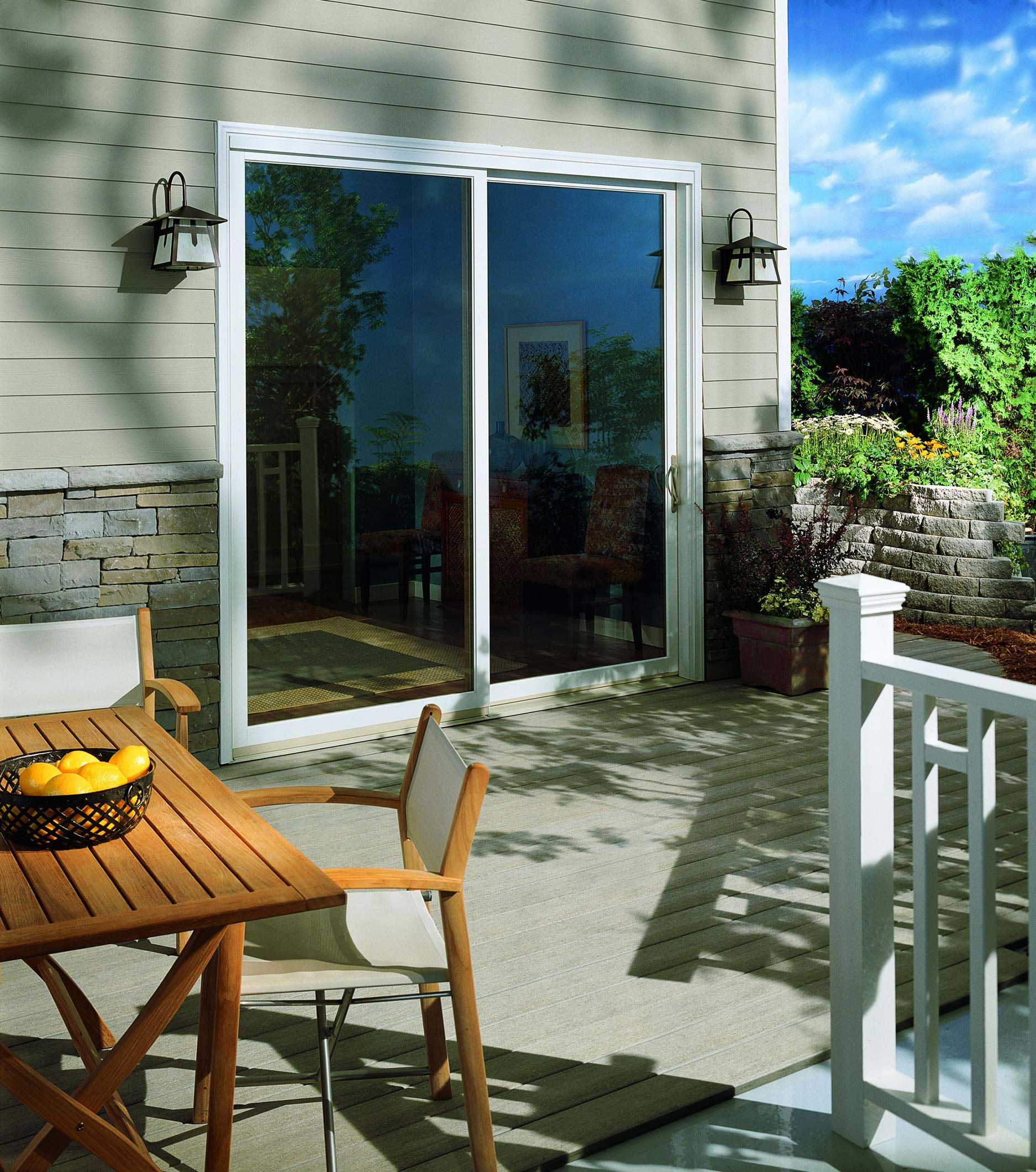 Patio Doors Sliding: Authentic Window Design