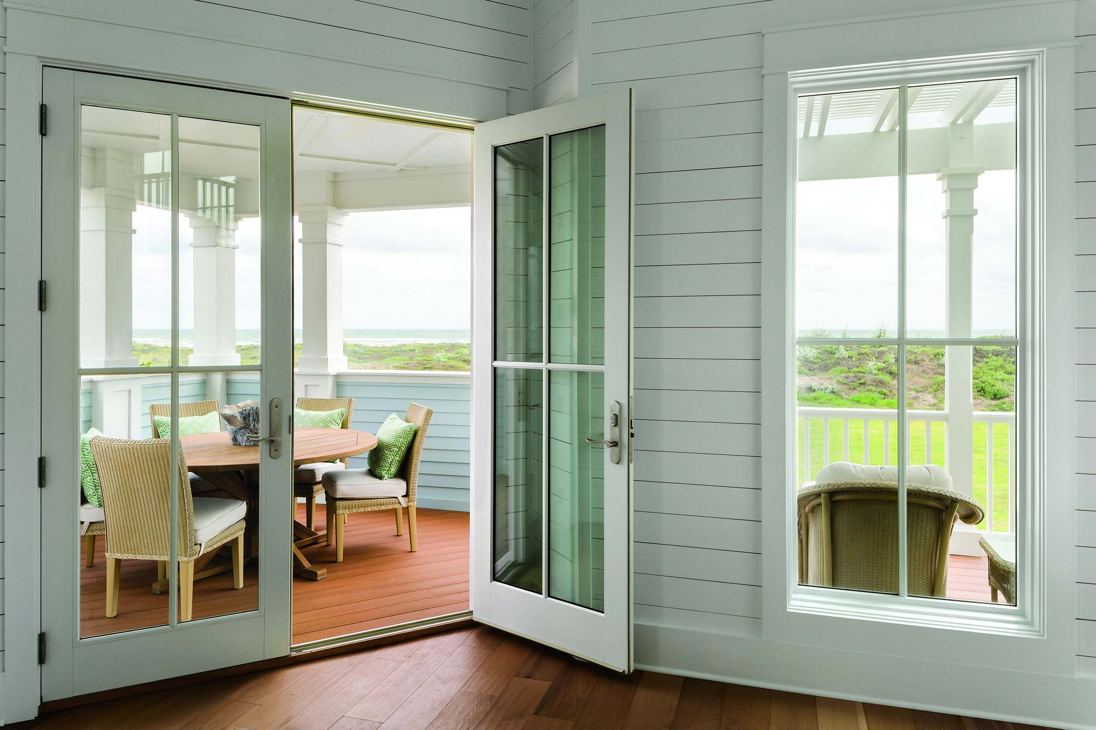 Ultimate Inswing French Door and Ultimate Awning