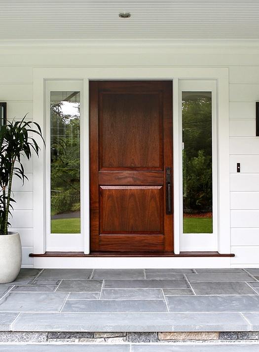 AWD upstate door exterior classic wood door