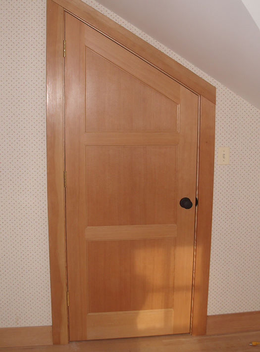 angled custom interior door awd upstate door